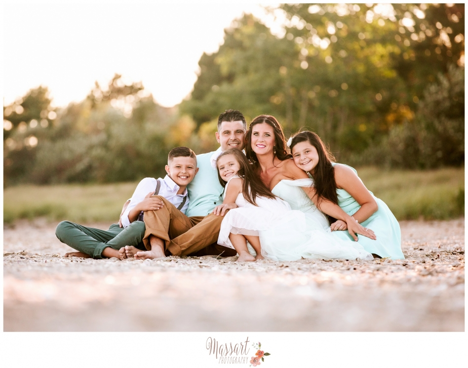 Family portrait by Massart Photography, serving Rhode Island, Massachusetts and Connecticut
