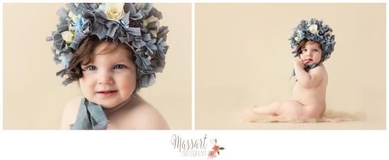 Baby portrait in studio by Rhode Island photographers of Massart Photography RI MA CT