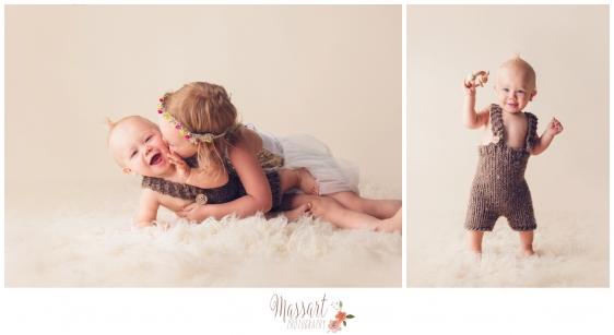 Children family portraits taken in studio by Warwick Rhode Island photographers of Massart Photography RI MA CT