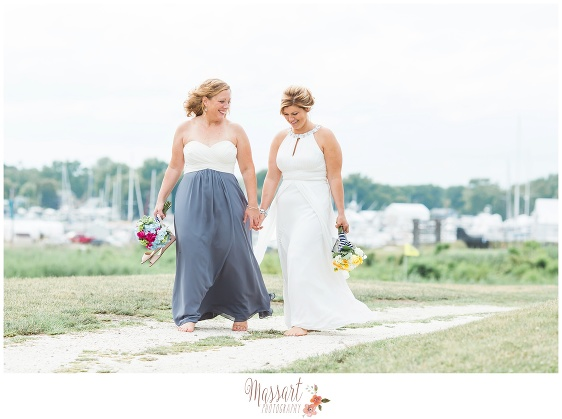 Wedding day outdoor portrait photographed by Massart Photography RI MA CT