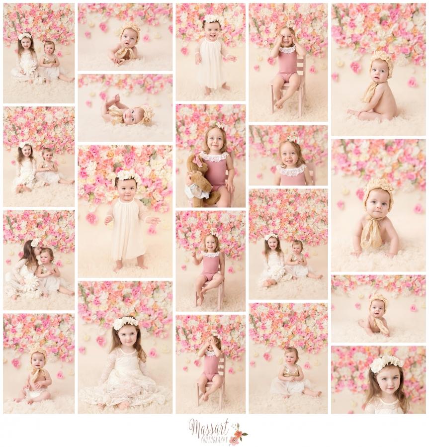Massart Photography DIY flower studio backdrop