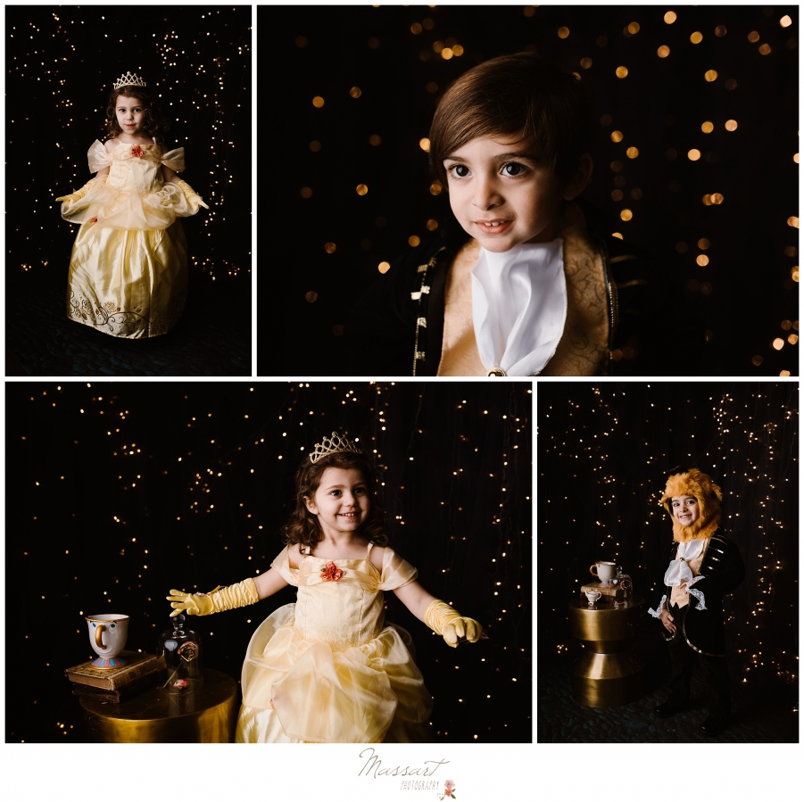 Belle and the beast for massart photography's beauty and the beast mini studio sessions rhode island