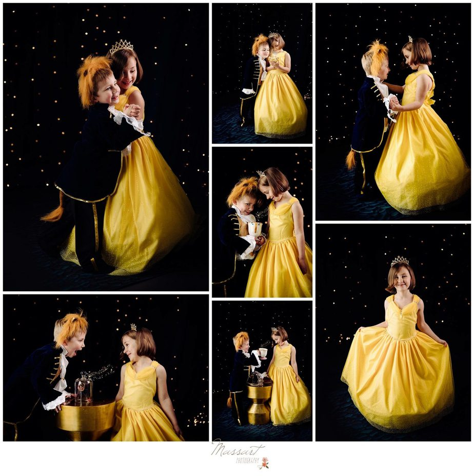 Beauty And The Beast Themed Mini Sessions By Massart Photography Of