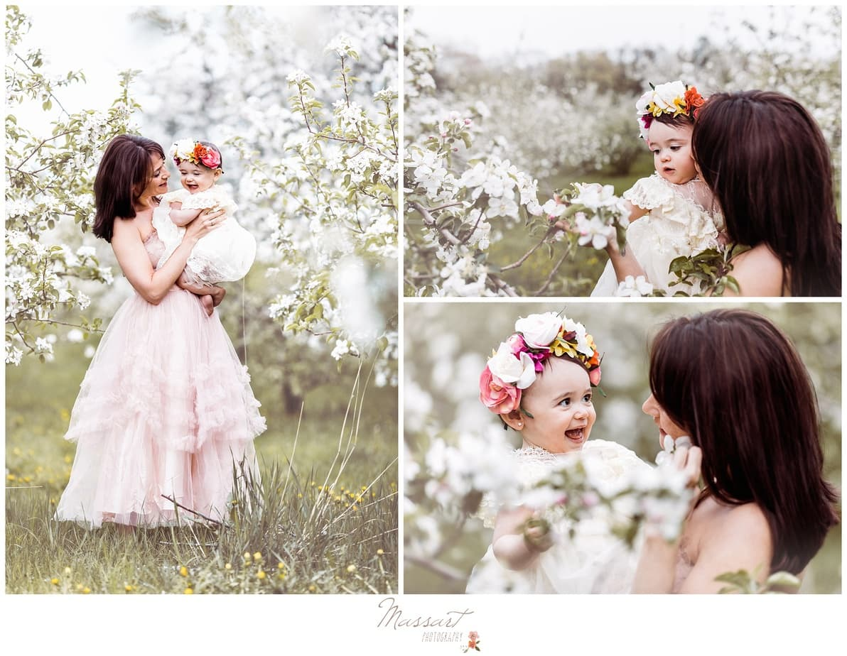 magical whimsical mommy and me photo session in warwick RI by massart family photographers