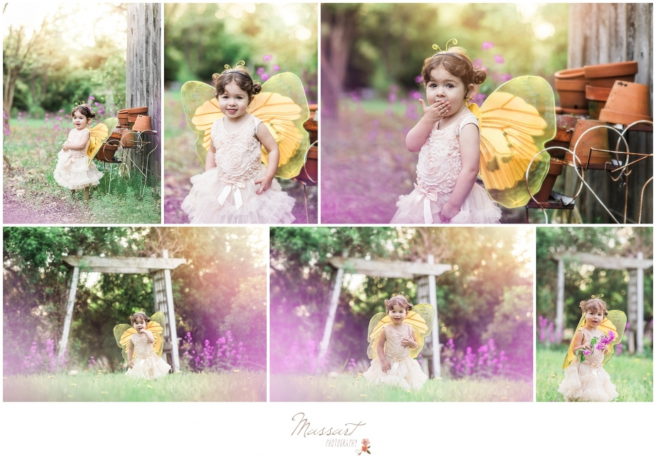 Outdoor spring portraits of a little girl during a family and maternity portrait session in Rhode Island by Massart Photography.