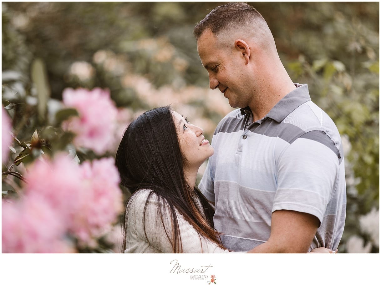 Spring engagement photo shoot by Massart Photography of Warwick, Rhode Island