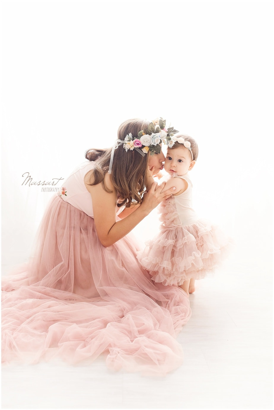 styled photo shoot of mother and daughter photographed by Massart Photography of Rhode island