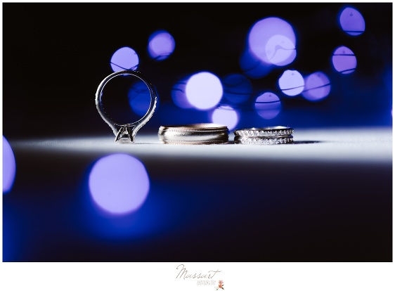 photo of wedding rings by massart photography of rhode island