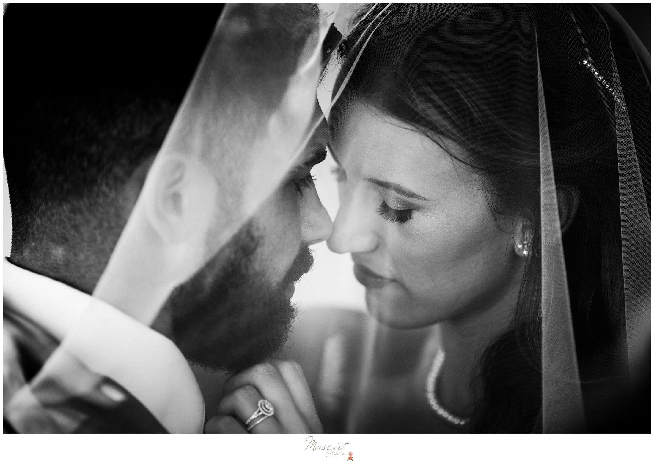 Wedding photographers from RI at Massart Photography photo of bride and groom at kirkbrae country club