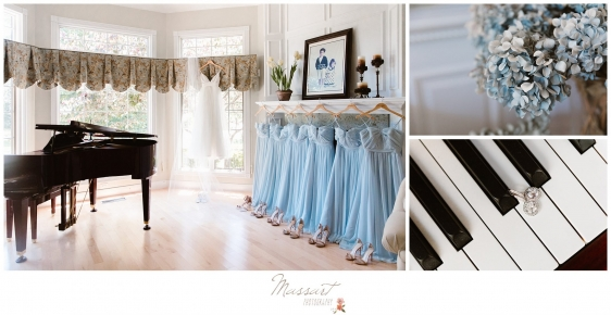 Photos of bridesmaid dresses in bride