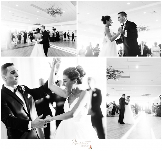 Photos of the bride and groom