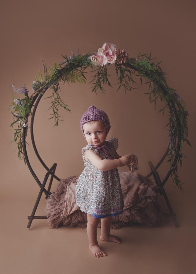 RI CT MA cake smash photographer Massart photography little girl turns one