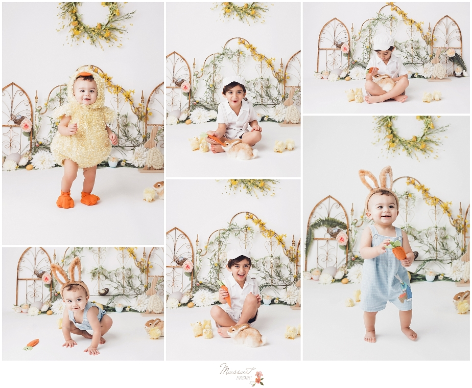 Easter mini sessions at massart photography studio in warwick, RI