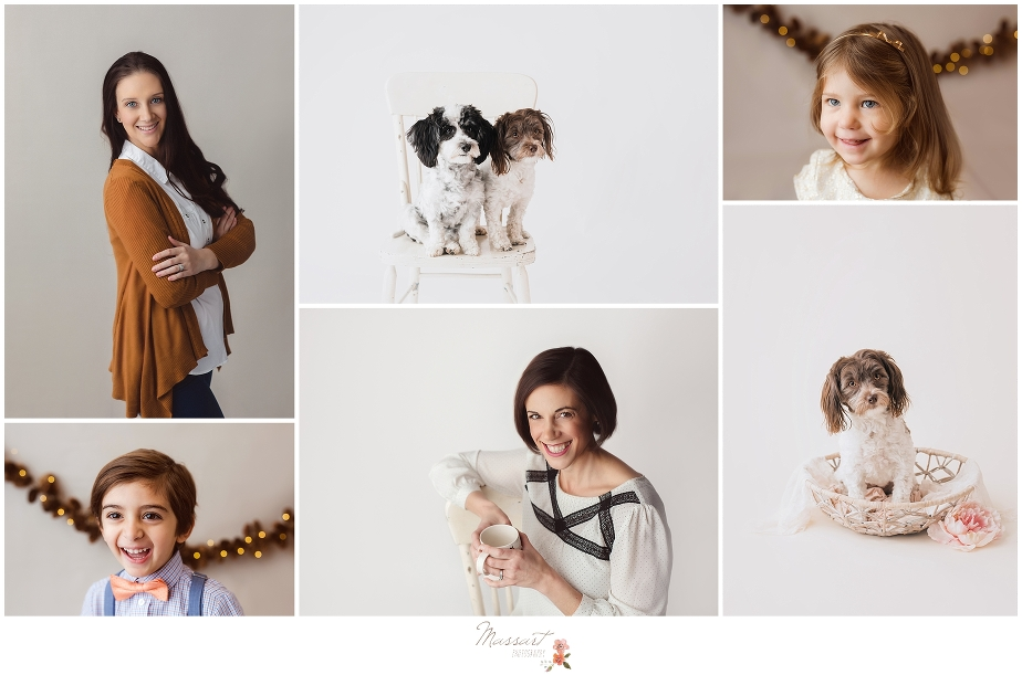 Headshots for businesses, school photos and dog and pet portraits are all images included in services by Massart Photography in Rhode Island, Connecticut and Massachusetts