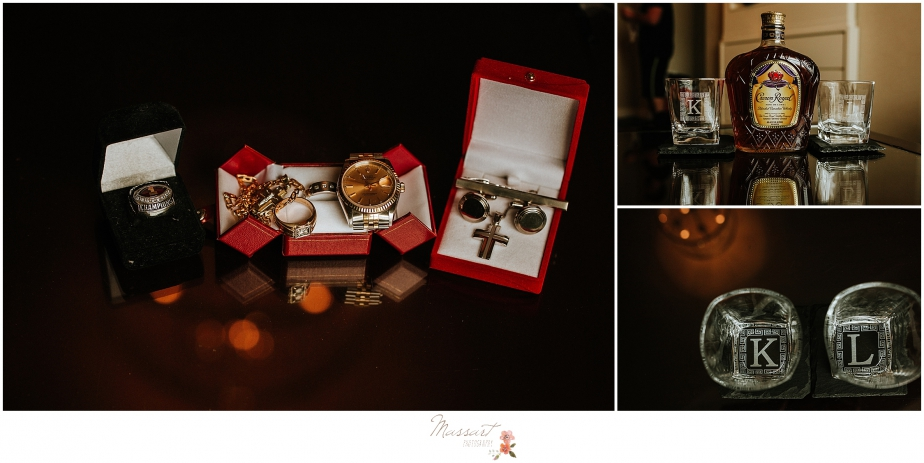 classic groom details for Providence Biltmore wedding photographed by RI, MA, CT wedding photographers Massart Photography