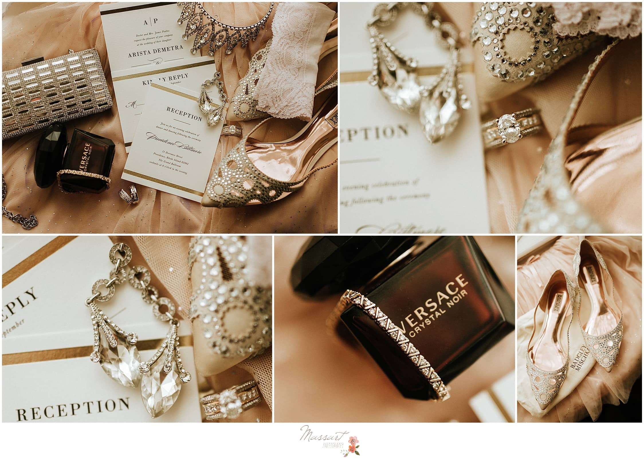 Classic October wedding day details for RI wedding photographer by RI, MA, CT wedding photographers Massart Photography