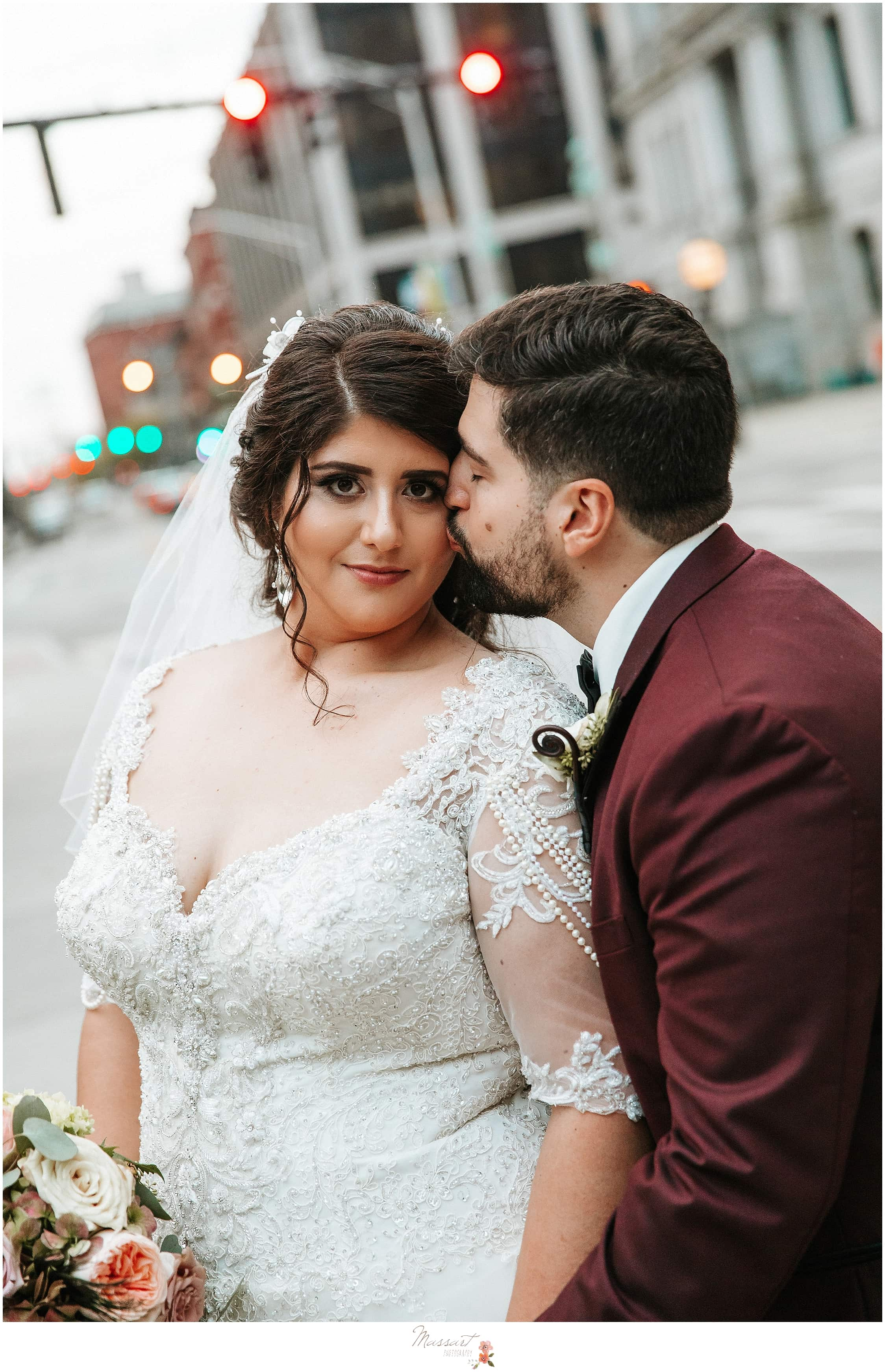 Massart Photography captures newlyweds in Rhode Island