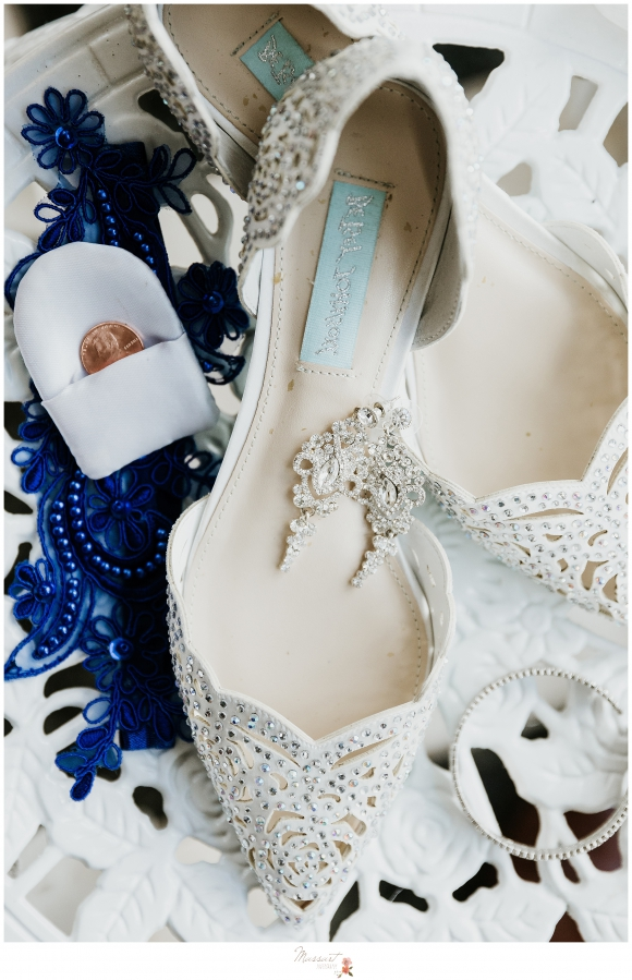 Lace wedding shoes for Crowne Plaza wedding day in Warwick RI