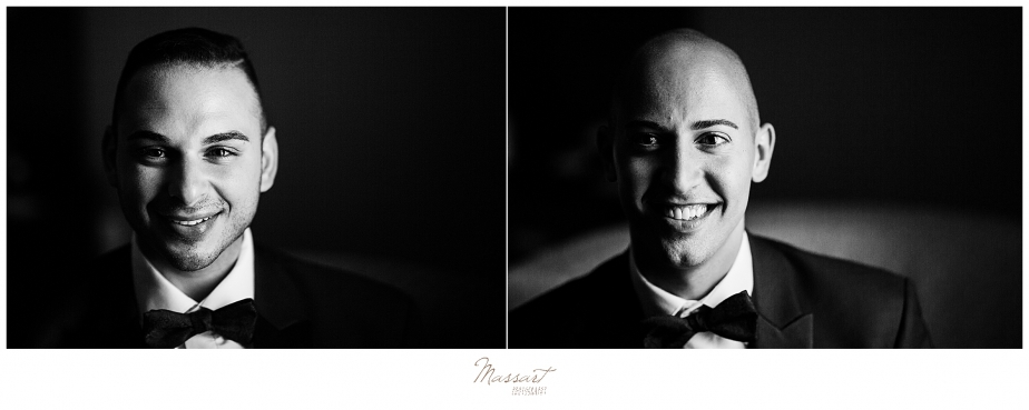 CT wedding photographers Massart Photography capture Palace Theater wedding