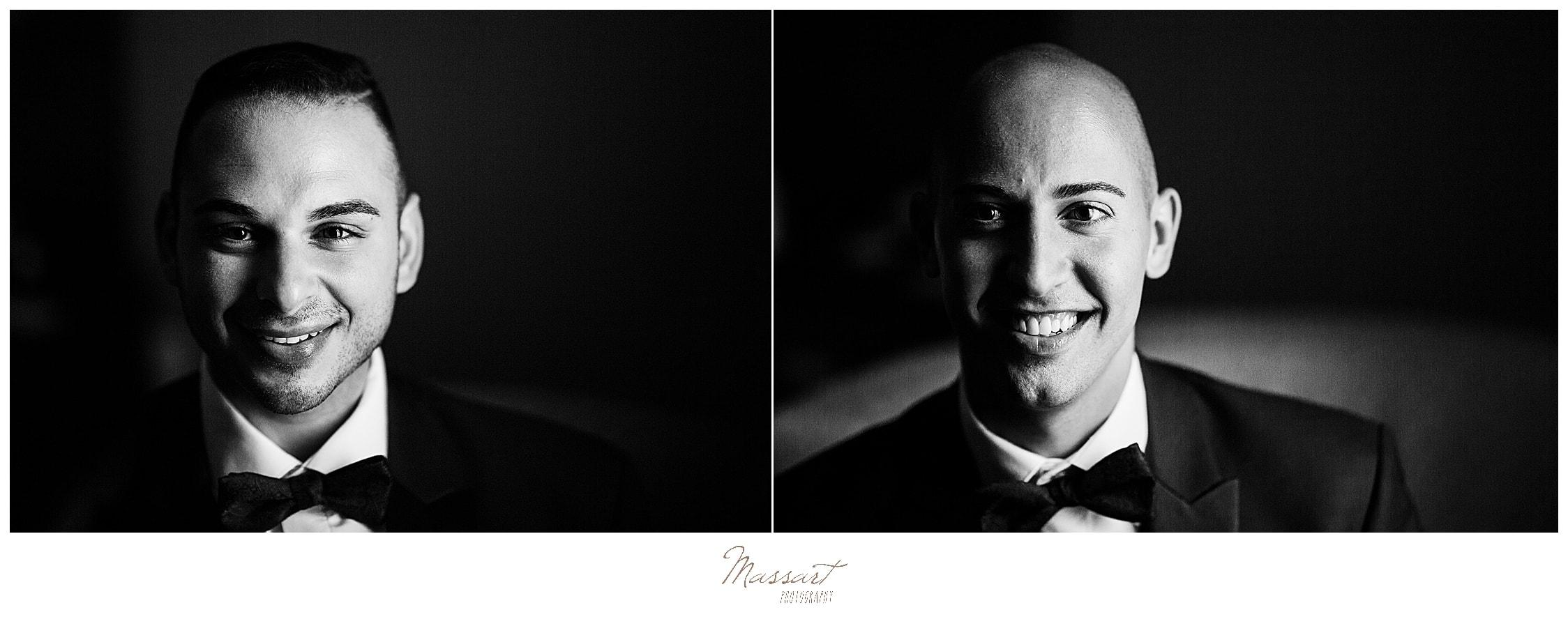 CT wedding photographers Massart Photography capture Palace Theater wedding