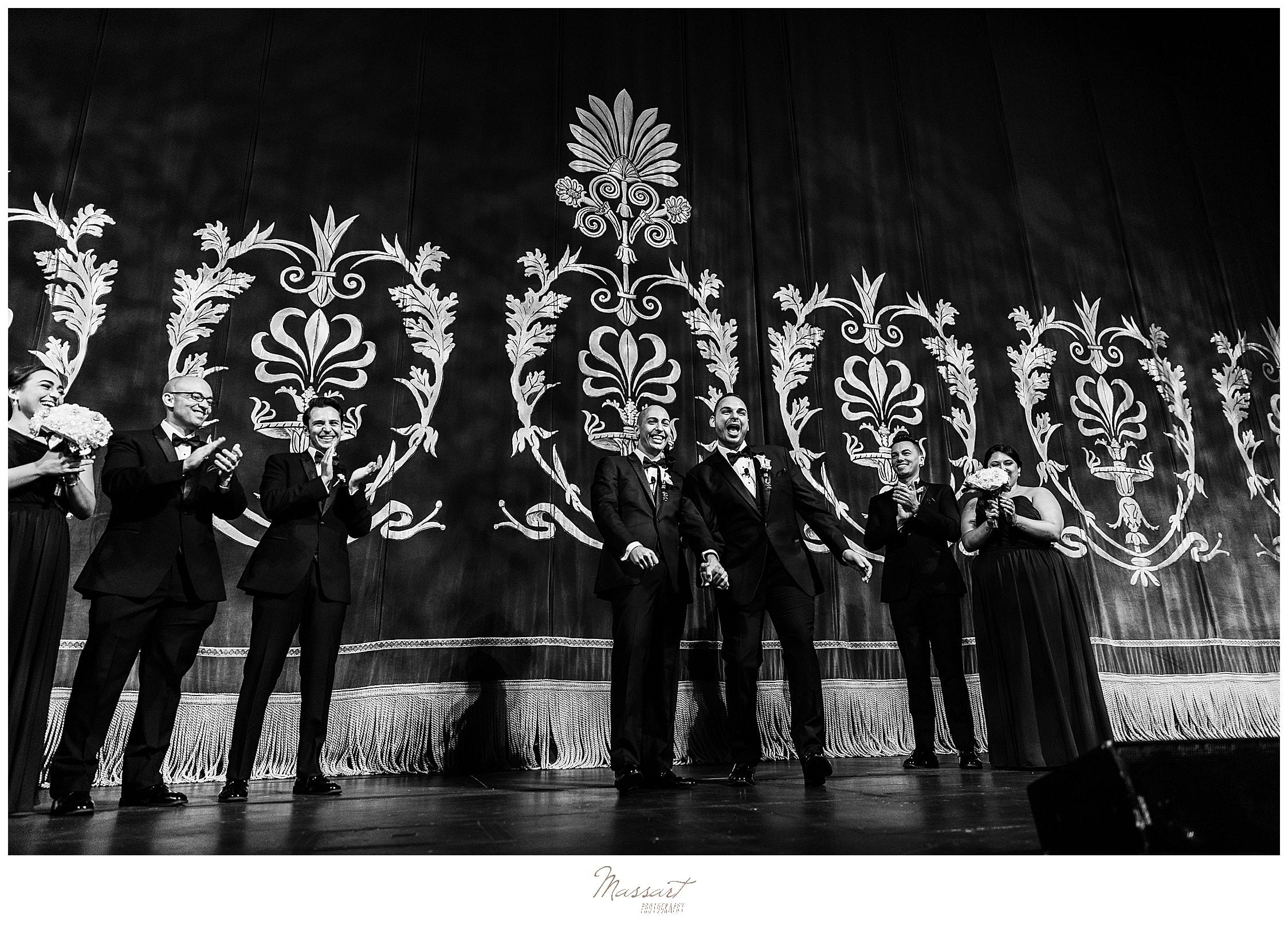 CT wedding ceremony photographed by wedding photographers Massart Photography