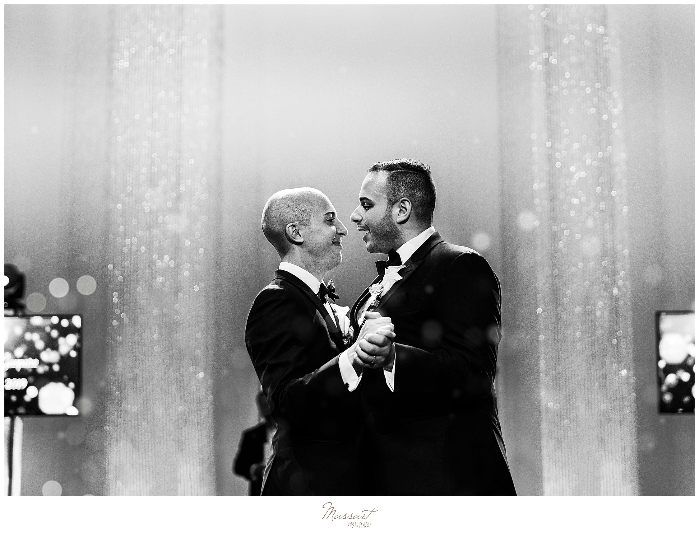 First dance in CT with wedding photographers Massart Photography