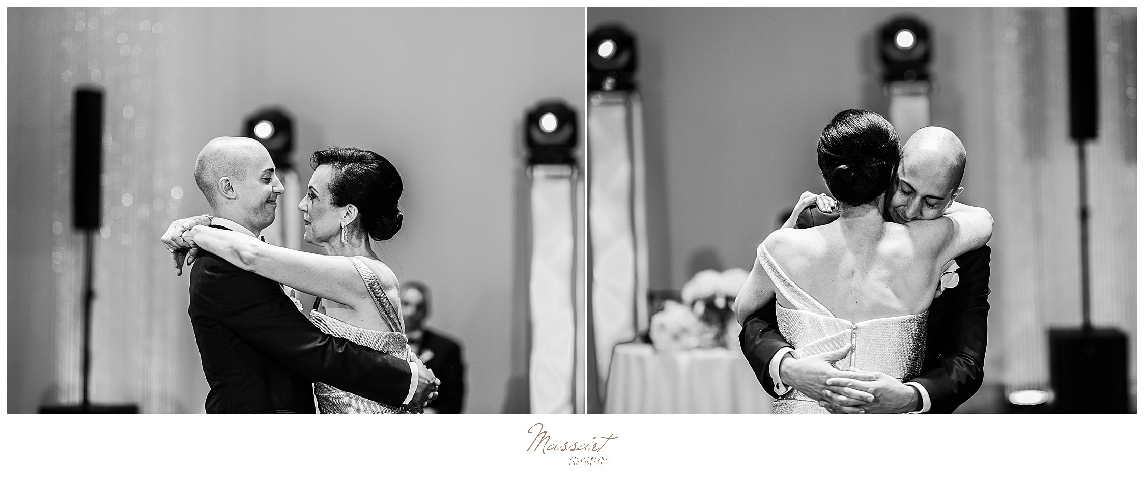mother-son wedding dance photographed by CT wedding photographers Massart Photography