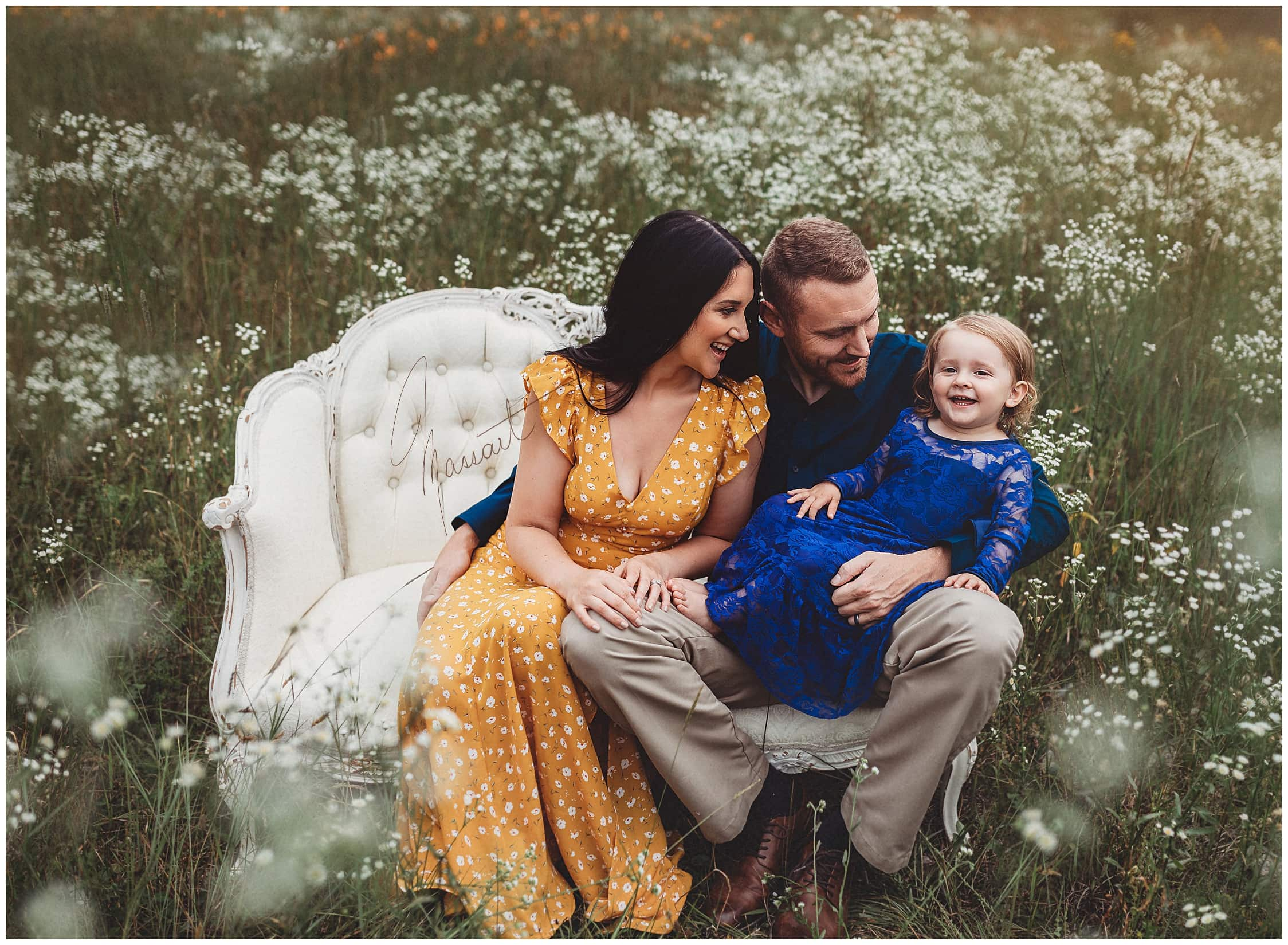 Family pictures during a photo session with Massart Photography in Rhode Island