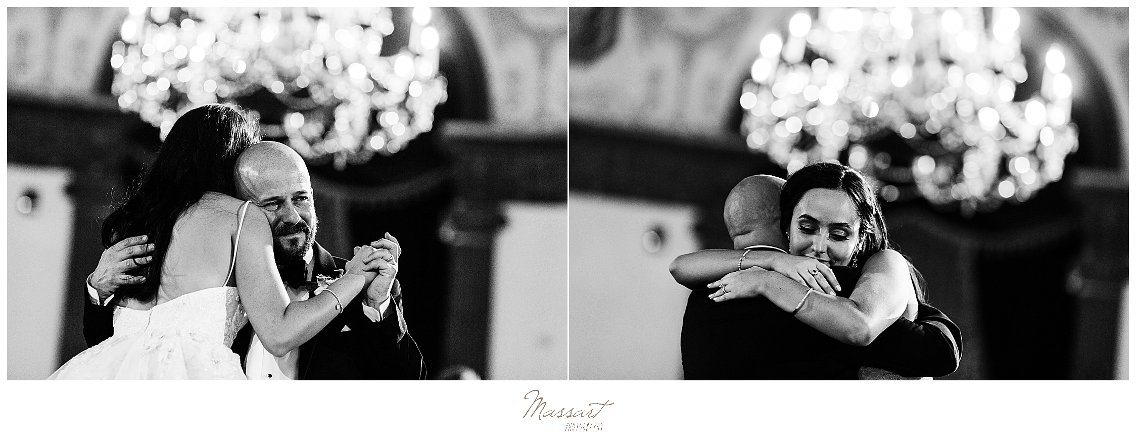 Providence RI wedding dances photographed by wedding photographers Massart Photography