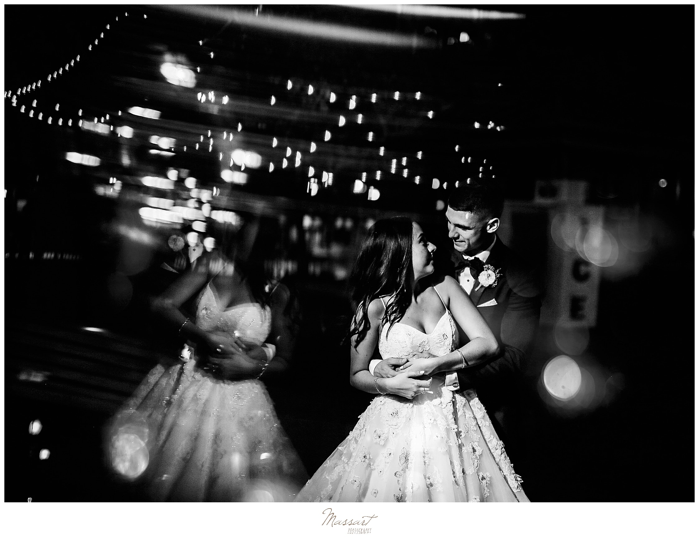 artistic wedding photos in Providence RI with wedding photographers Massart Photography