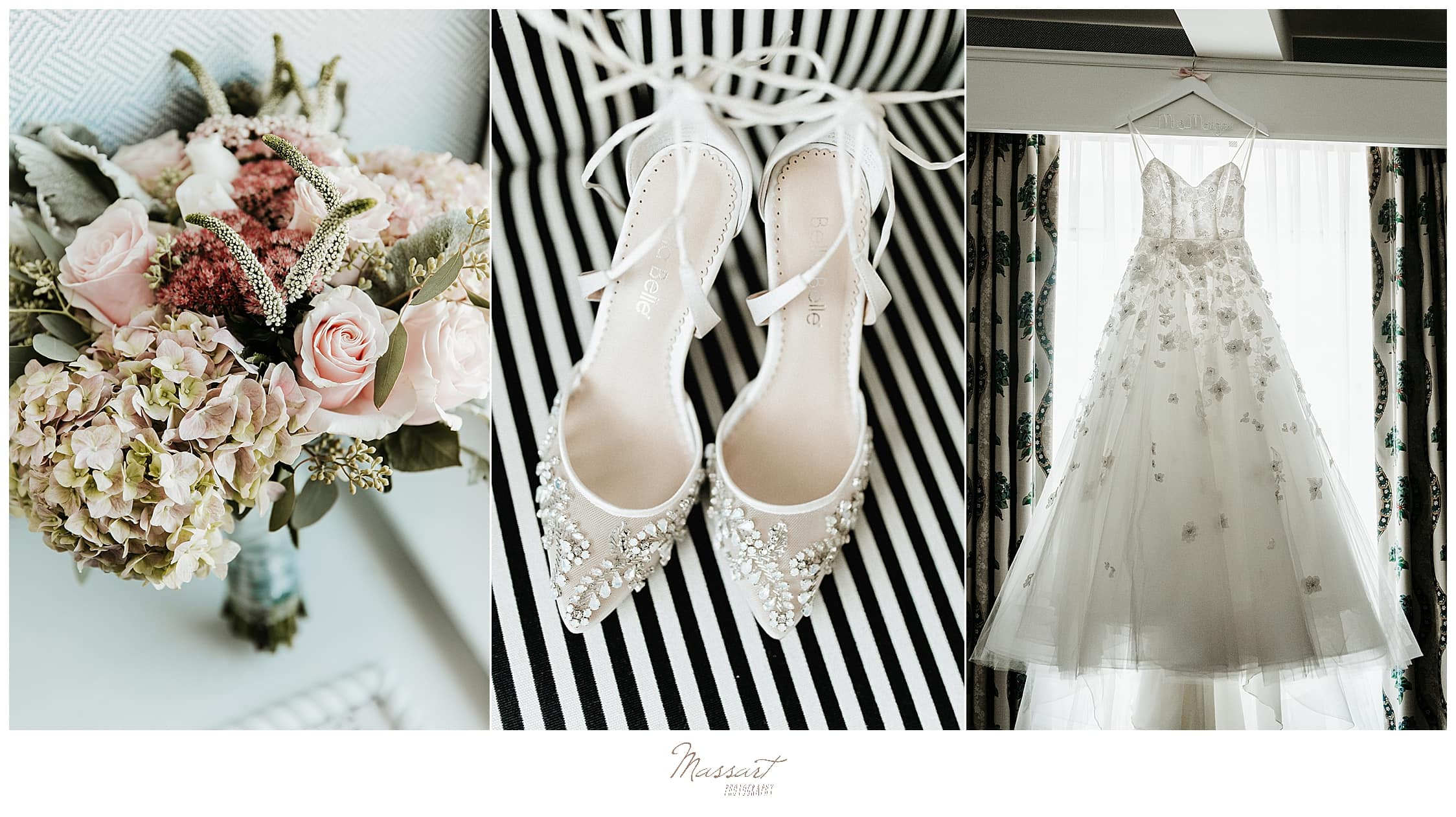 wedding photographers Massart Photography capture bridal details