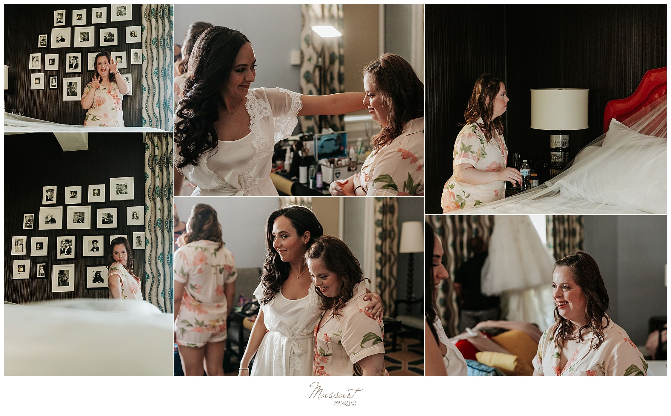 bridal preparations for RI wedding day with wedding photographers Massart Photography