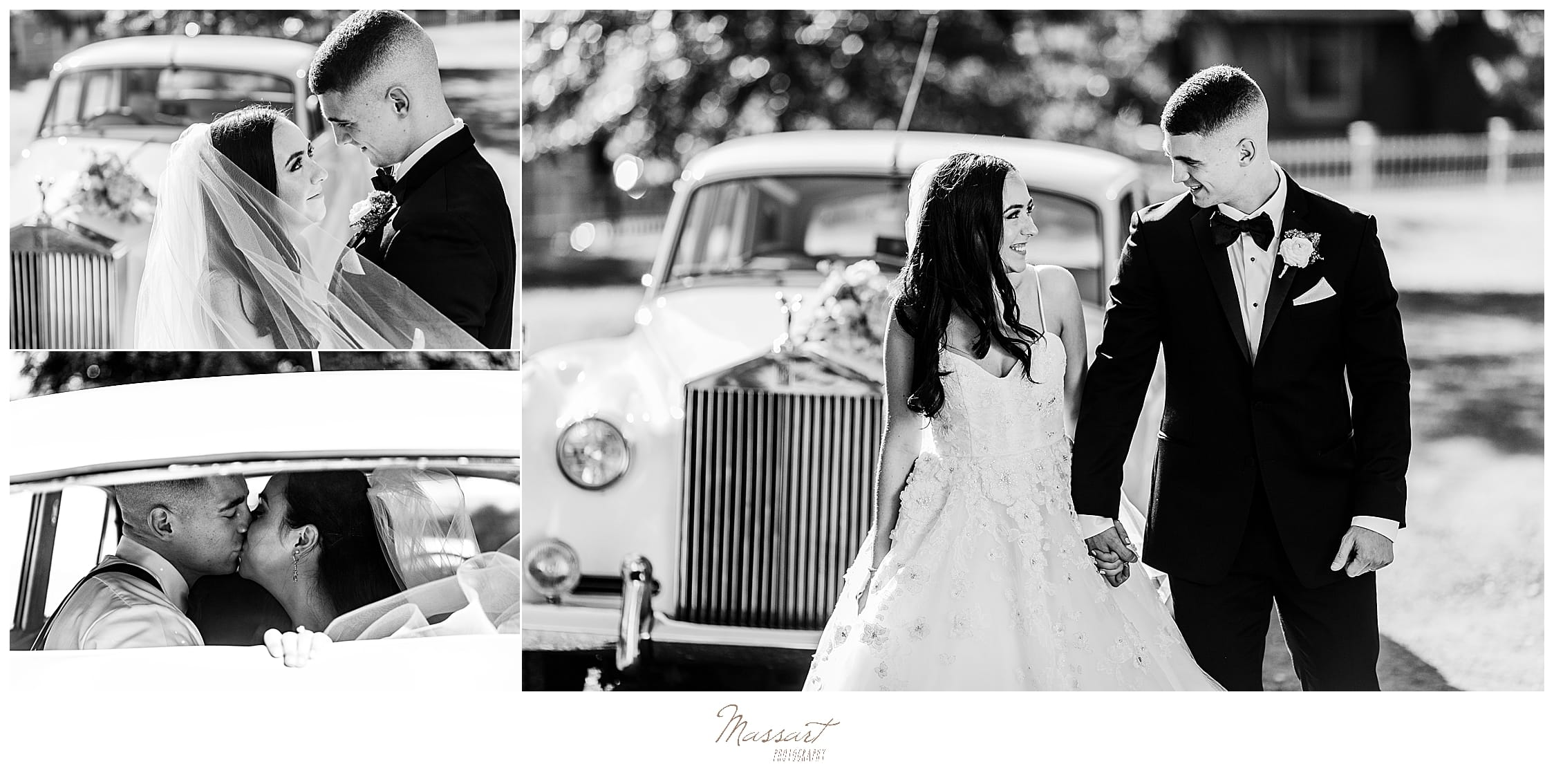Rhode Island wedding portraits by RI, CT, MA wedding photographers Massart Photography