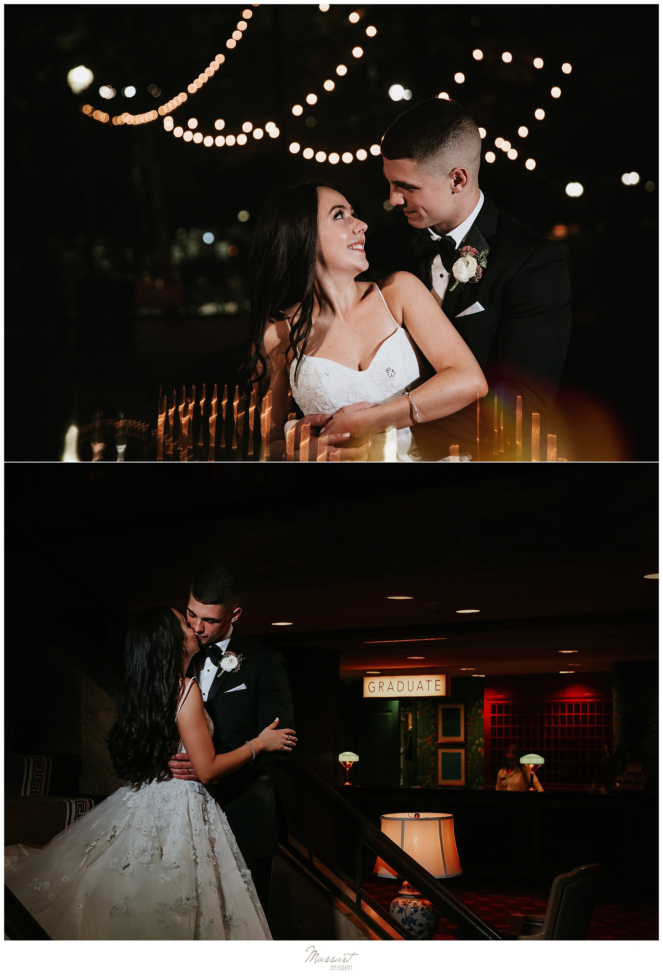 wedding portraits in Rhode Island with wedding photographers Massart Photography