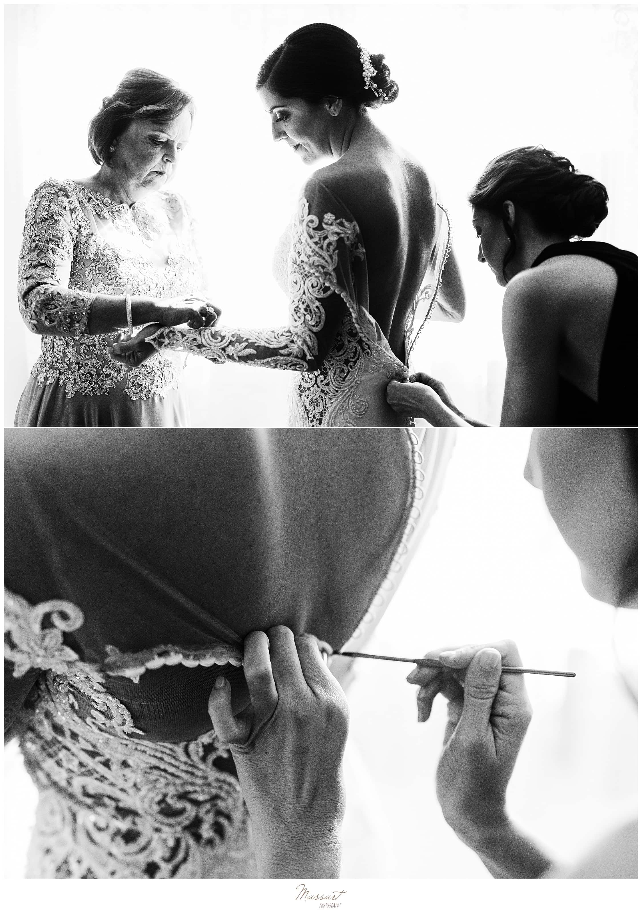 bridal preparations in MA with Massart Photography