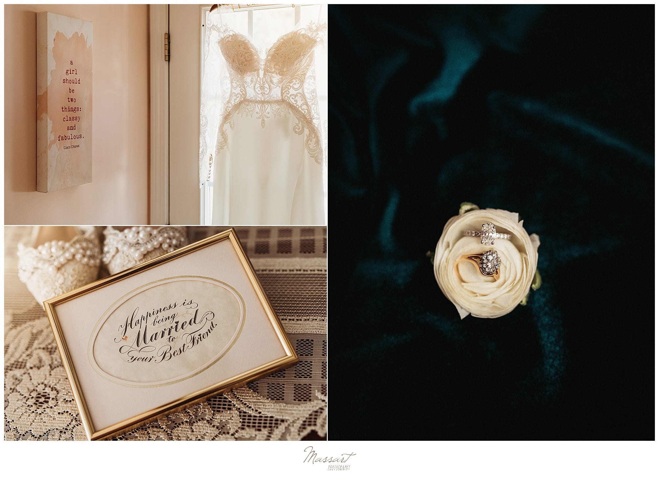 groom's details for Foxboro MA wedding day photographed by Massart Photography
