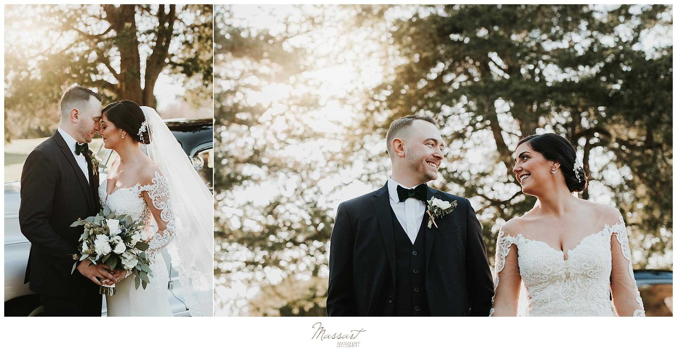 classic emotional fall wedding portraits by Massart Photography in MA