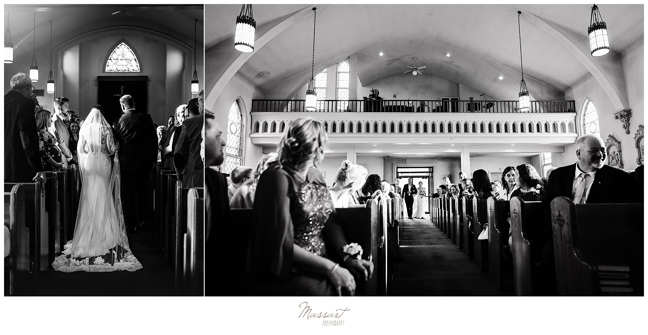 wedding ceremony in MA photographed by Massart Photography