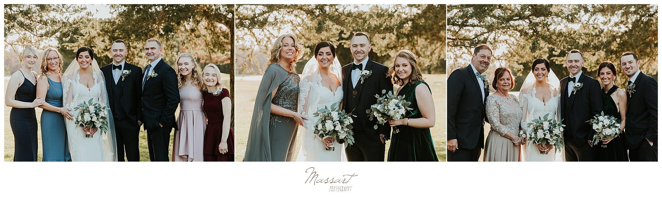 family portraits in Foxboro MA with Massart Photography