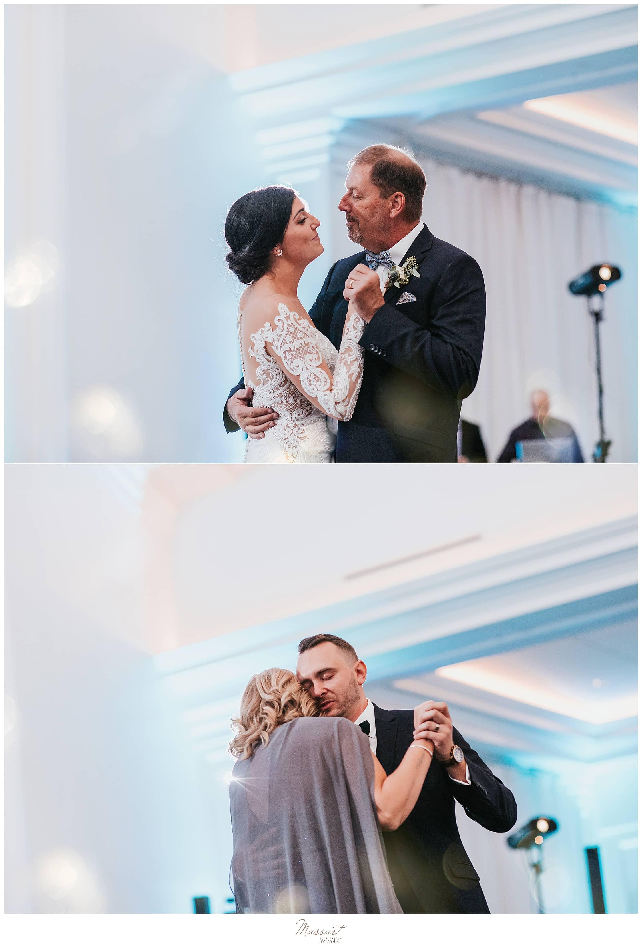parent dances photographed by MA, CT, RI wedding photographers Massart Photography