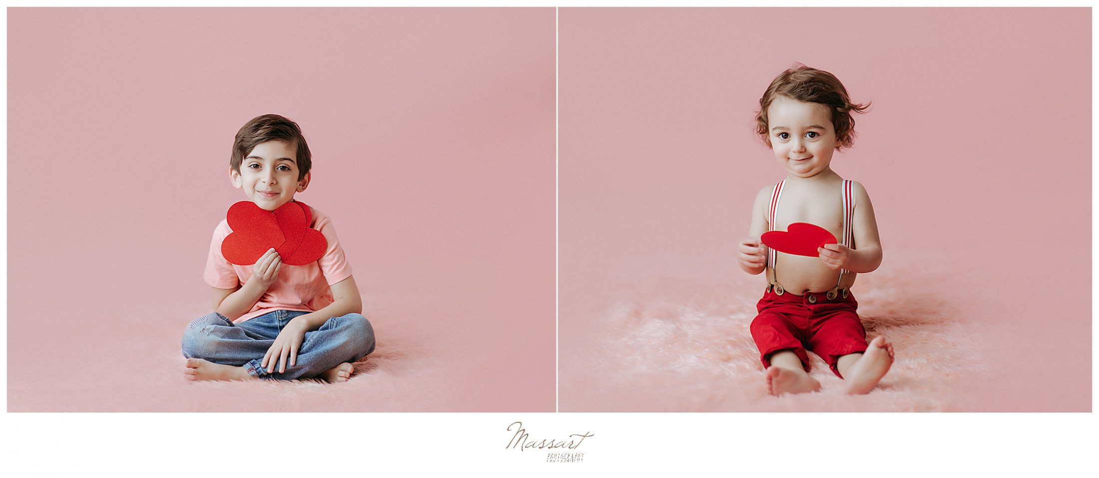 Studio sessions by Massart Photography for V-day