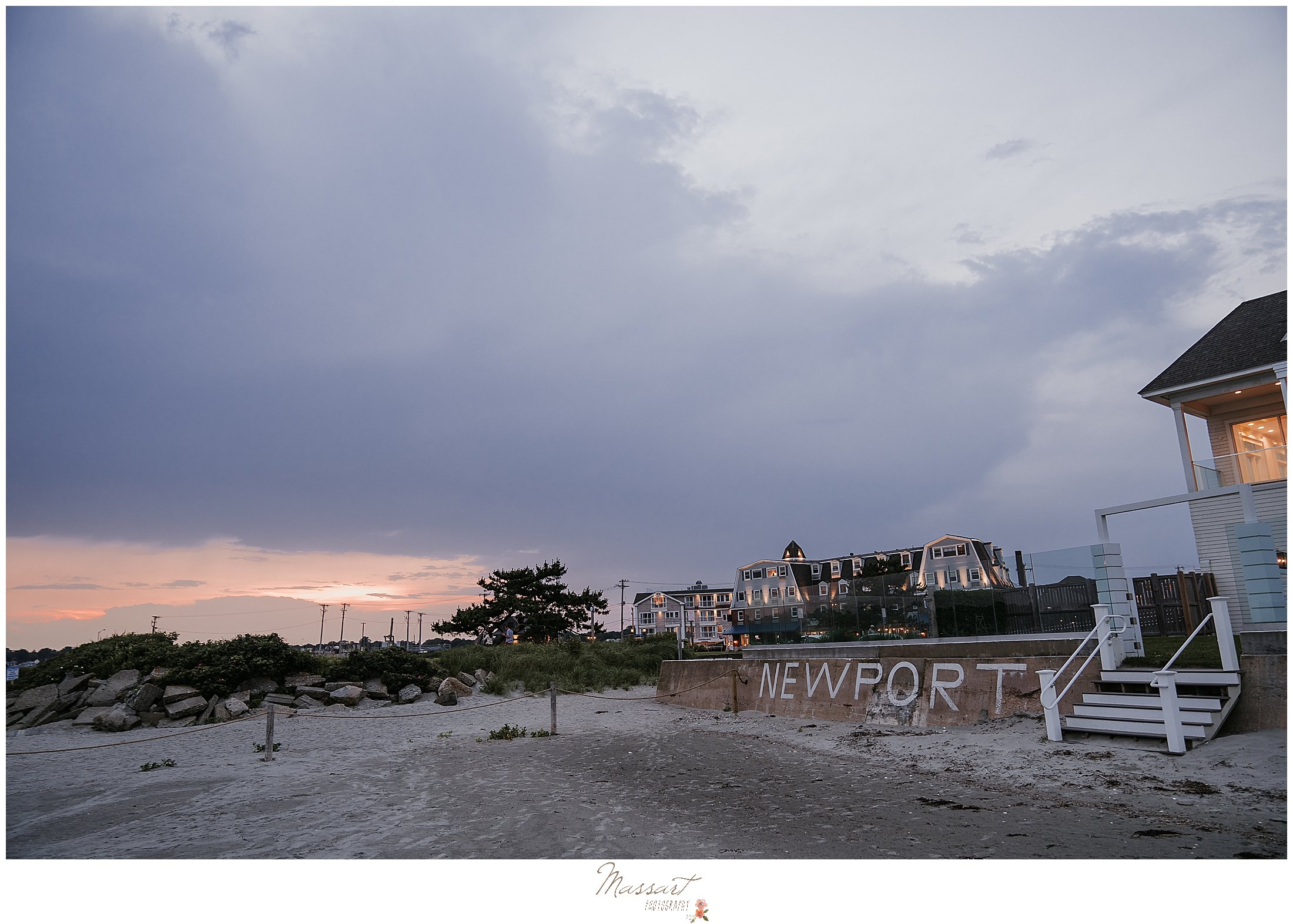 Newport Beach House wedding day photographed by Massart Photography