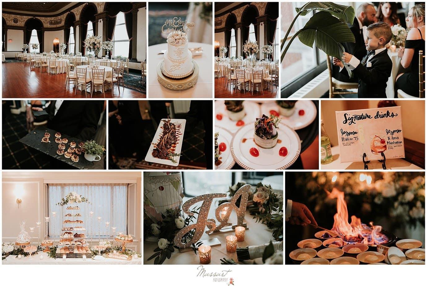 The Graduate Hotel wedding reception details