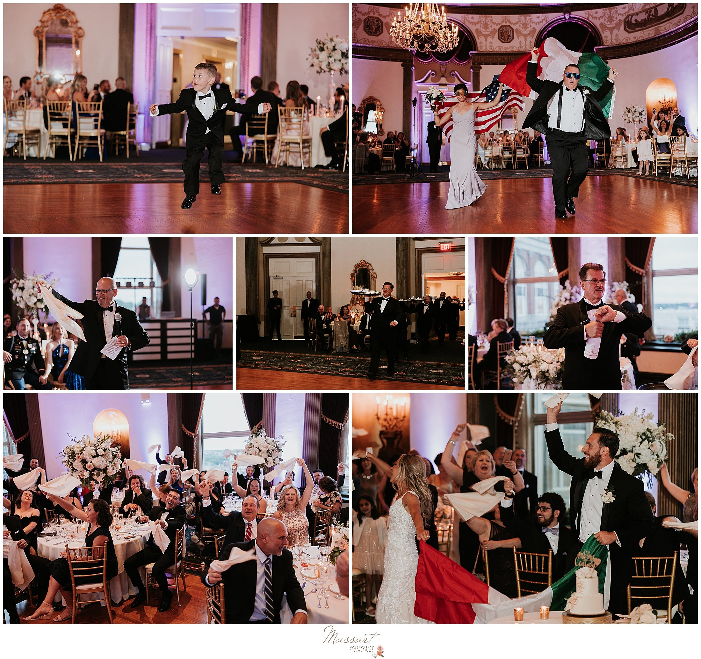 wedding dances during Providence RI wedding reception