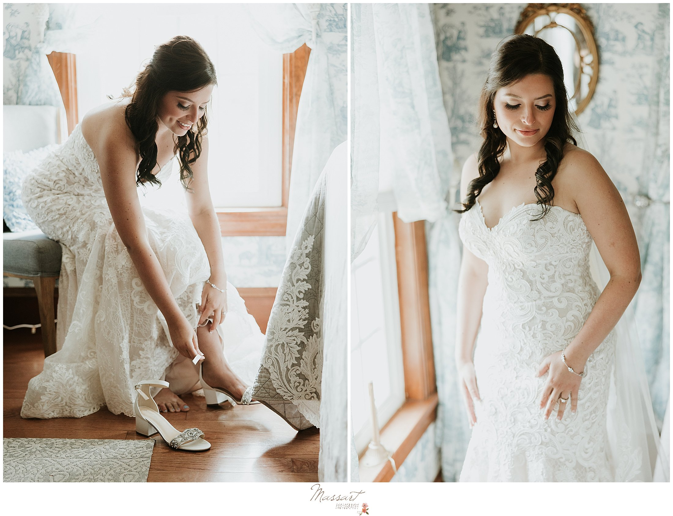 Massart Photographers from Rhode Island capture a bride getting ready pictures