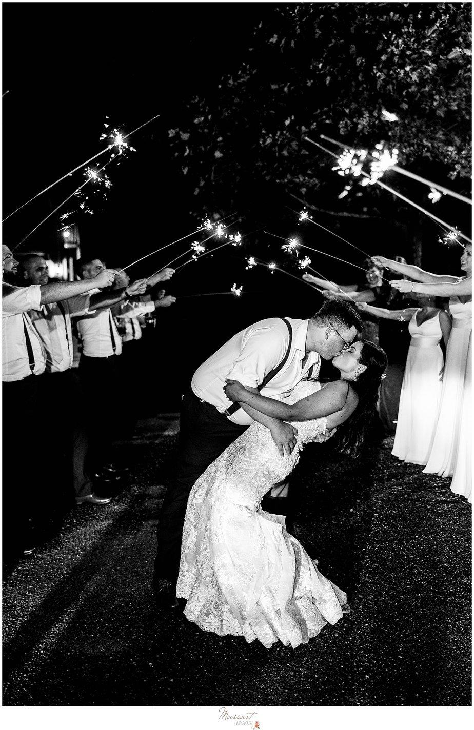RI photographers capture a sparkler exit