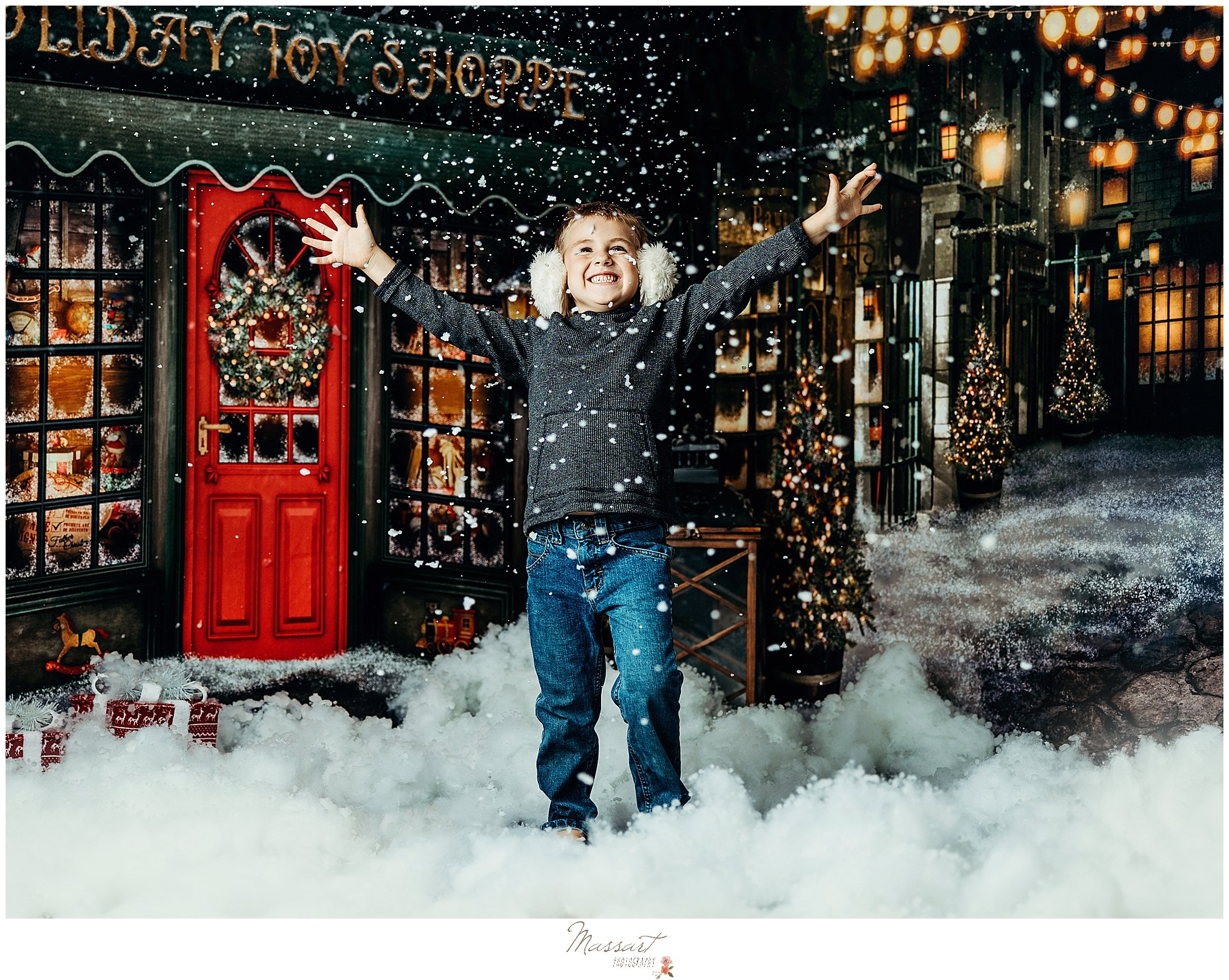 Massart Photography's holiday sessions in RI