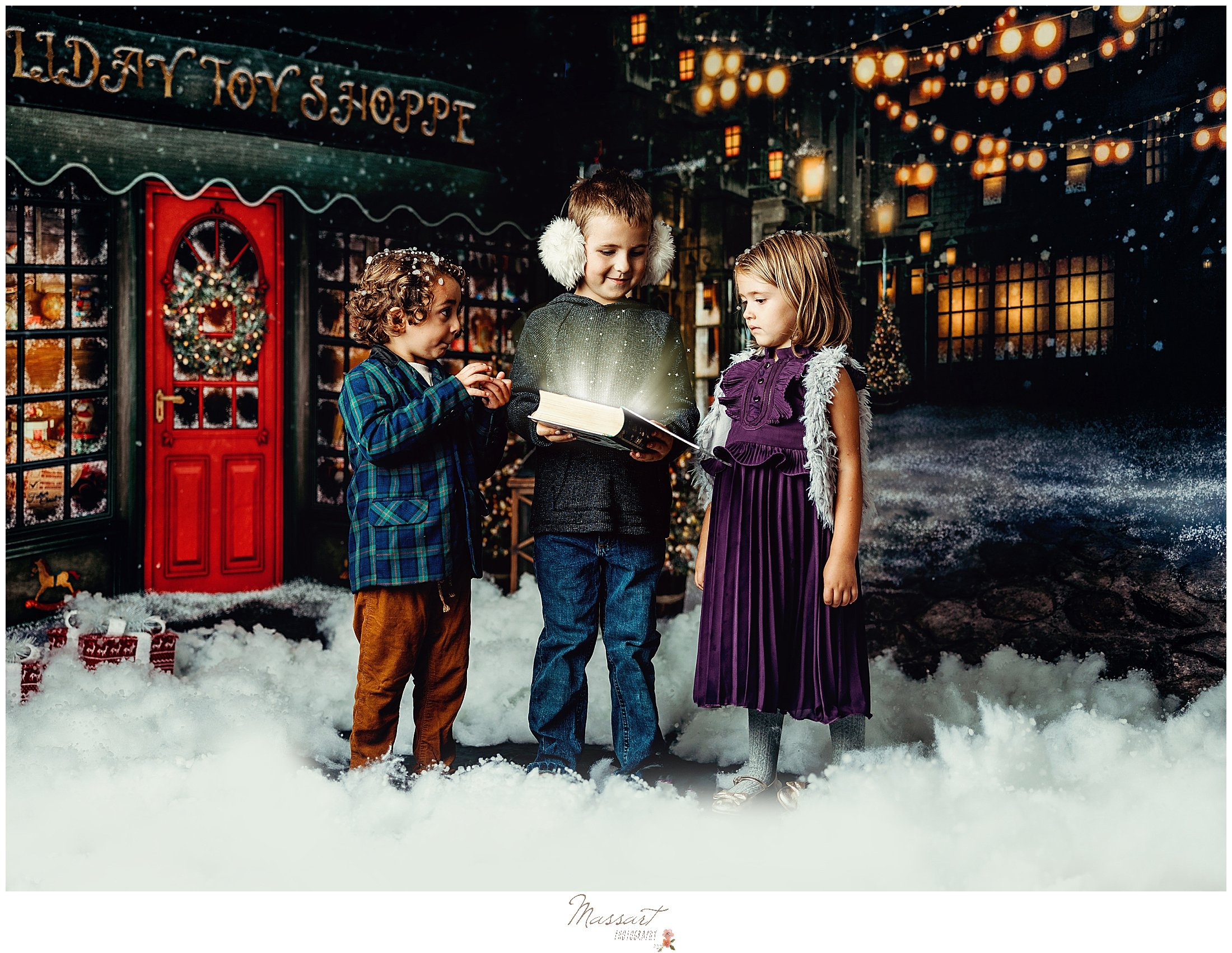 Children read a magical book for holiday sessions RI